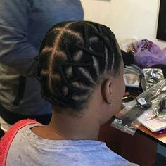 short hairstyles for prom Beach Waves Brazilian Wool Hairstyles, African Natural Hairstyles, African Braids Hairstyles, Girl Hairstyles, Black Hairstyles, Teenage Hairstyles, Natural Hair Braids, Braids For Black Hair, Natural Hair Styles