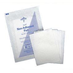 """EA/1 - CURAD Sterile Non-Adherent Pad 3"""" x 8"""""""