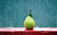 mi nuevo mensaje de twitter para todos con una pera