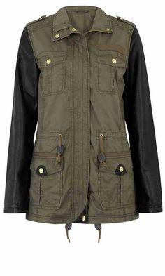 primark green army jacket