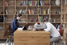 This Ostrich Pillow Will Let You Fall Asleep in Crowded Places