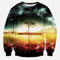 d9ff8c1d5156 Cheap mens 3D trees pullover sweatshirt for autumn Mens Sweatshirts, Men's  Hoodies, Printed Sweatshirts