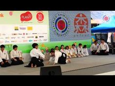 Aikido Shinju-Kai Demo at Scape Singapore 2015 - YouTube