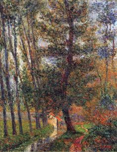 Gustave Loiseau - Banks of the Sausseron at Nesles,1897