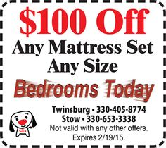 Bedrooms Today Coupon