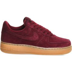 NIKE Air force one trainers ❤ liked on Polyvore featuring shoes, sneakers, nike, nike footwear, nike sneakers, nike shoes and nike trainers