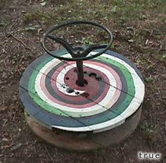 Adult sized Sit 'n Spin