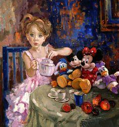 Irene Sheri Vishnevskaya, 1968 ~ romántico pintor impresionista