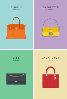 7229c577ac3802 Saved by Ruth Seatter (ruthyroo) on Designspiration Discover more  Illustrations Colour Iconic Bags Design inspiration.