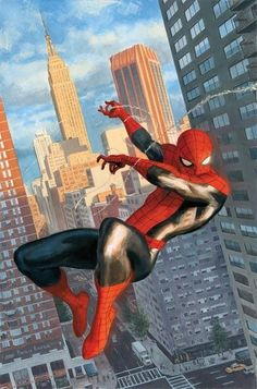 Very well done Spider-man painting.