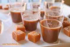 Salted Caramel Jello Shots