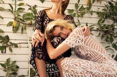 Bridal Lace Goes Badass In This Stunning New Collection #refinery29 http://www.refinery29.com/stone-cold-fox#slide-8 ...