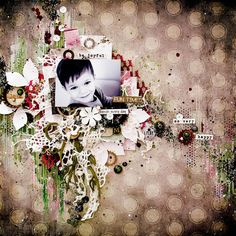 "Mixed Media Place: Layout ""Godson"" by Anastasia + video"