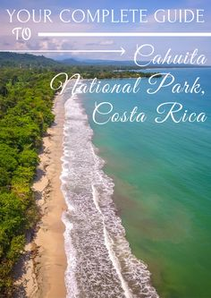 Everything you need to know to have the most incredible experience at the Cahuita National Park in Costa Rica!