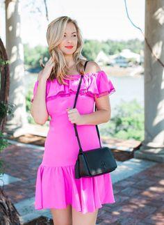 Kelly Kapowski Dress... - Bloom Girl Blog. Summer Rebecca Taylor Pink Ruffle Dress