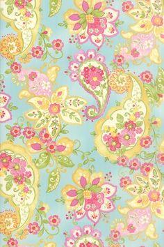 ** Colette - Floral Paisley Sky-Colette, moda, chez, moi, paisley, floral