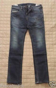 #DIESEL men jeans THAVAR Stretch size 32x32 (98% cotton 2% Elastane (MOROCCO) visit our ebay store at  http://stores.ebay.com/esquirestore