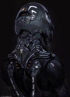 alien biker?