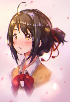 pixiv is an illustration community service where you can post and enjoy creative work. A large variety of work is uploaded, and user-organized contests are frequently held as well. Anime Ai, Otaku Anime, All Anime, Anime Love, Manga Anime, Wallpaper W, Kimi No Na Wa Wallpaper, Kawaii Anime Girl, Anime Art Girl