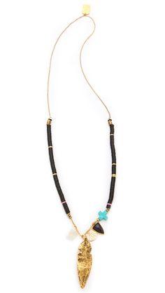 Lizzie Fortunato Jewels Fortune Teller Necklace