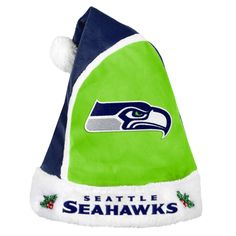 34a9f06b12b69 Seattle Seahawks 2015 Christmas Santa Hat