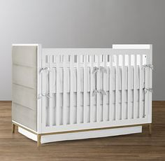 rh baby u0026 childu0027s loew upholstered cribitalian modernist design of the 1950s and 1960s - Oeuf Sparrow Crib