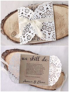 Just ME: We still do! {anniversary party invitation}