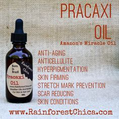 Pracaxi Oil - For the treatment of scars, hyper-pigmentation, melasma, stretch marks and hair care. Same day, flat fee shipping. Straight from Brazil to you.