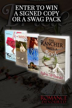 Win Signed Copies or Swag Packs from Award-Winning, Bestselling Author Sylvia McDaniel