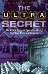 The Ultra Secret by F. W. Winterbotham. Operation Ultra was designed to intercept and decode World War II German signals sent using Enigma, the top-secret German cypher machine, a device so sophisticated that its existence was kept top secret until the 1970's. F.W. Winterbotham was the man responsible for the organization, distribution and security of Ultra. This is his personal account of the operation.
