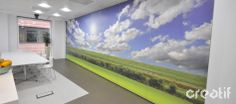 #Bigvista Solo top-hung operable #moving #wall. #workspaces #officedesign