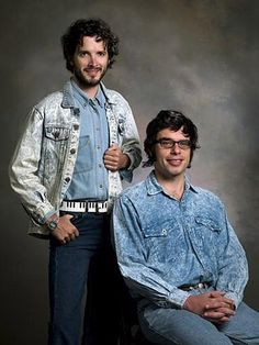 Flight of the Conchords...there just aren't words to depict their awesomeness :)