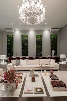 Luxury Living Casa Cor RS designed by Lidia Maciel. …