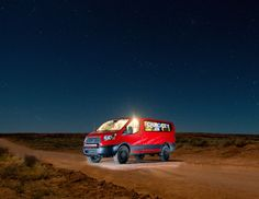 Check Out The First Ford Transit Van To Try Off-Roading In Moab