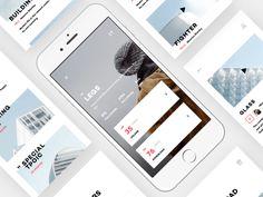 Design Life Video App UI Design-2 by Zhao Legs