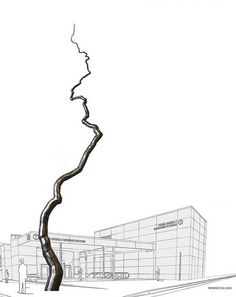 Dramatic Roxy Paine Sculpture Coming To 4th Street Central Subway Station