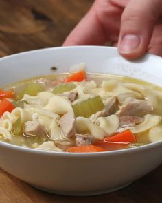 Get Together With Your Friends And Smile Over This Chicken Noodle Soup