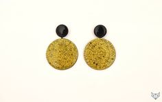"Earrings ""Phaestos Disc"""