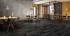 Diesel Grunge Concrete - Realistic Cement Effect Porcelain Tiles Cement, Concrete, Grey Tiles, Wall And Floor Tiles, Interior Inspiration, Diesel, Grunge, Flooring, Furniture