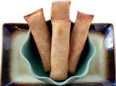 Pork and Vegetable Lumpia from 'The Adobo Road Cookbook'