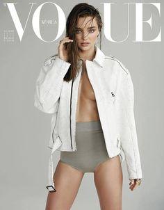 Miranda Kerr covers Vogue Korea. www.koraorganics.com