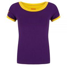Halsoverkop tshirt Purple yellow details top shirt paars geel details https://www.fanprint.com/licenses/akron-zips?ref=5750