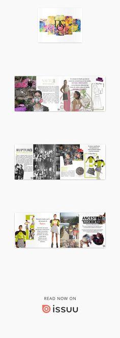Portafolio de Diseño de Modas  Soy una estudiante de Diseño de Vestuario de la Universidad San Buenaventura de Cali, mi portafolio presenta proyectos que he trabajado durante el transcurso de mi carrera en las materias de énfasis profesional, destacando mis habilidades investigativas y de diseño.