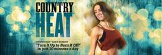 Get ready to fire up your metabolism, burn calories, and melt away unwanted pounds while having fun dancing to the hottest country music. Country Heat workouts are 30 minutes of exhilarating, low-impact movements that will have you melting off weight and reshaping your body