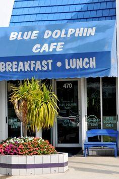 Blue Dolphin Cafe, Longboat Key, Florida .. best breakfast