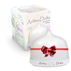 Aromatherapy Essential Oil Diffuser By AromaDoma Powerful Easy to Use Ultrasonic Home Spa Oil Diffuser >>> More info could be found at the image url. Essential Oil Diffuser, Essential Oils, Peaceful Life, Home Spa, Program Design, Easy To Use, Aromatherapy, Fragrance, Essentials