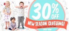 30% Off New Season Clothing @ Babyco - Bargain Bro