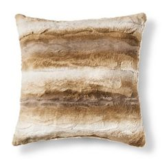Threshold™ Faux Fur Ombre Pillow -- Target in-store clearance