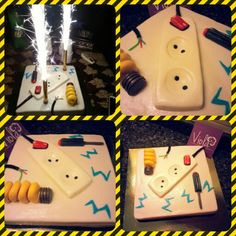 #electrician # cake