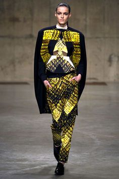 London Fashion Week: Peter Pilotto. Fall/Winter 2013/2014